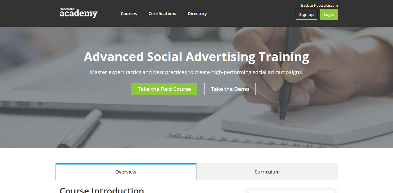 Screenshot 2018 09 16 Advanced Social Advertising Training - Affina le Tue Doti di Marketing con questi Top Corsi Online