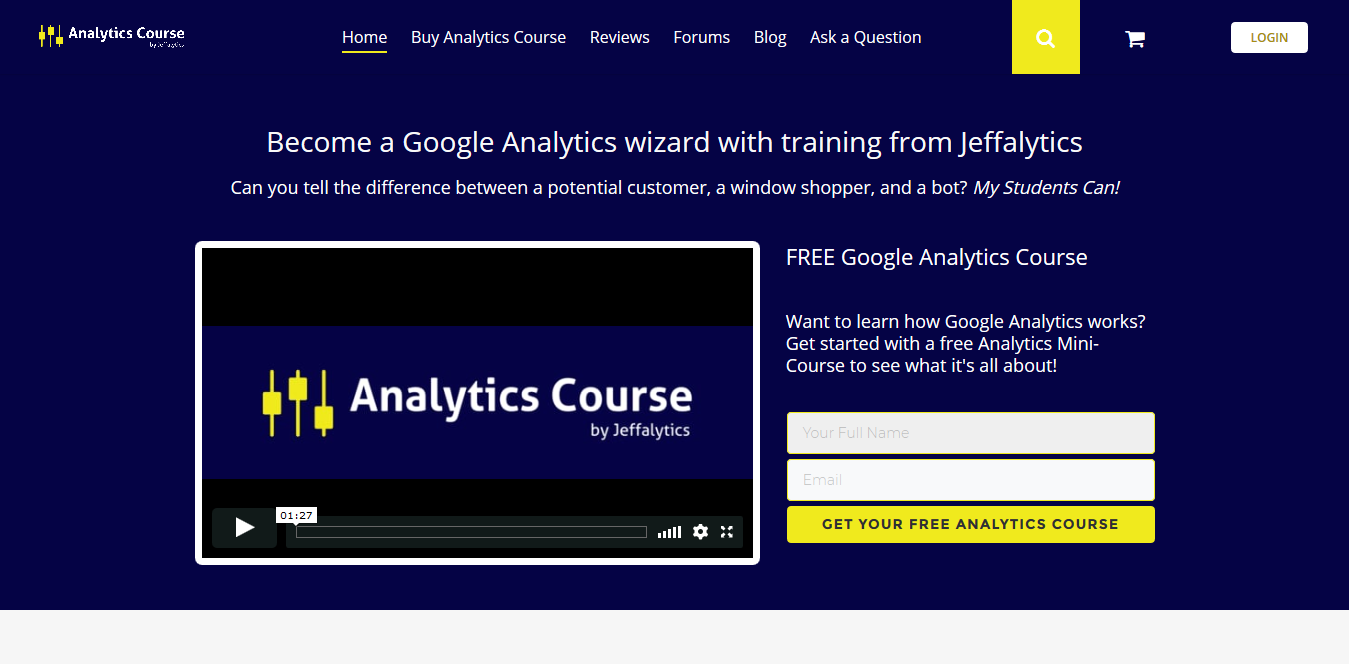 Screenshot 2018 09 16 Google Analytics Training Certification Course Get Certified with Jeffalytics  - Affina le Tue Doti di Marketing con questi Top Corsi Online